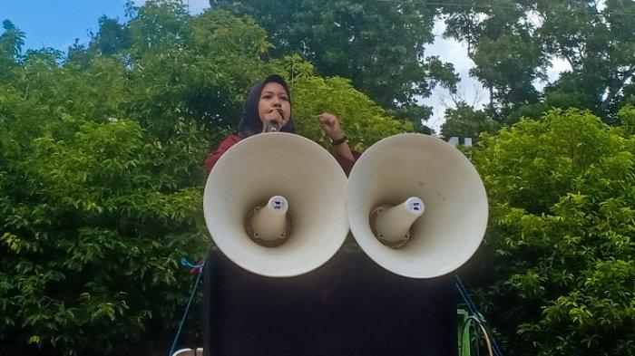 Mahasiswi Unilaki di Konawe Sebut Pimpinan Kampus Bobrok Karena Skorsing Mahasiswa Tanpa Prosedur