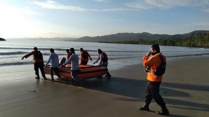 Hari Ketiga Pencarian Dua Korban Hilang di Pantai Batu Gong Konawe Kembali Dilanjutkan