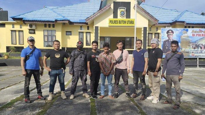 Polres Buton Utara Ciduk Pelaku Pencurian yang Buron Sejak 2018