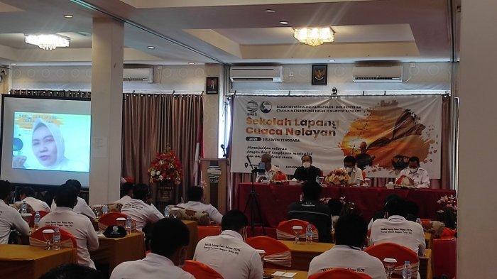 BMKG Kendari Buka Sekolah Lapang Cuaca Bagi Nelayan di Kendari, Moramo, dan Batu Gong