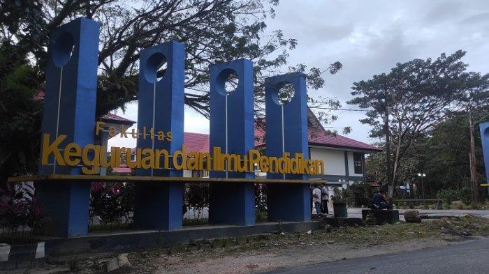 Dekan FKIP UHO Kendari Beri Bantuan Pada Keluarga Mahasiswa Korban Tenggelam di Pantai Batu Gong