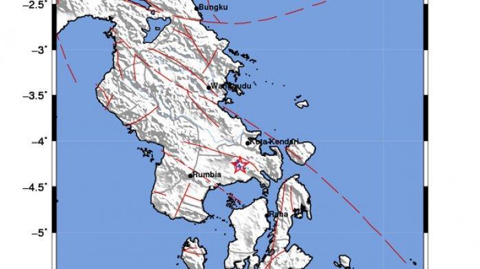 Konawe Selatan 2 Kali Diguncang Gempa Bumi hingga Pagi Ini, Penjelasan Stasiun Geofisika Kendari