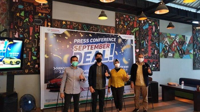 Beli Mobil Periode Juli-September, Kalla Toyota Kendari Beri Grand Prize Agya dan Benelli Motobi 200