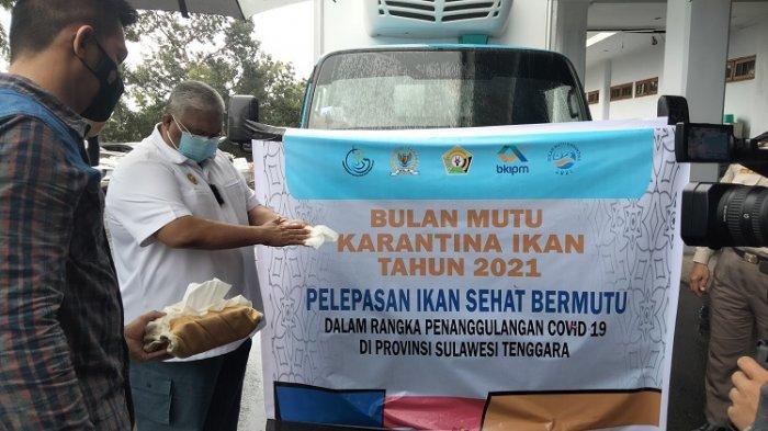 4 Laporan BKIPM Kendari ke Gubernur Sultra, Salah Satunya 5 Ton Ikan untuk Warga Terdampak Covid-19