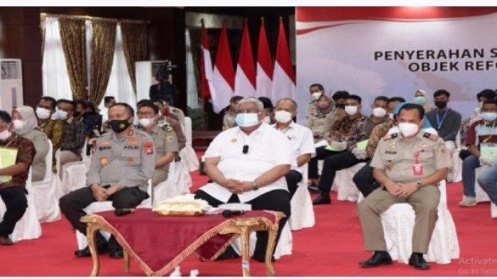 Presiden Jokowi Serahkan 10 Ribu Sertifikat Tanah untuk Warga 17 Kabupaten Kota Sulawesi Tenggara