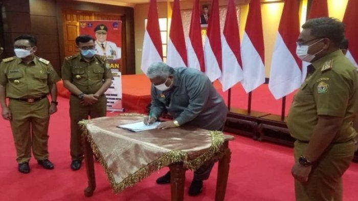 Gubernur Ali Mazi Tandatangani RPJMD 2018-2023, Wujudkan Pembangunan di Sultra