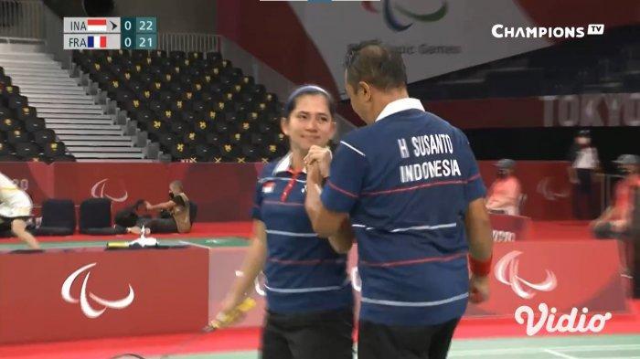 Hary Susanto/ Leani Ratri Oktila Raih Medali Emas Paralimpiade Tokyo 2020, Kedua Bagi Indonesia