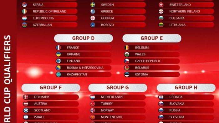 Hasil Klasemen Kualifikasi Piala Dunia 2022: Jerman Inggris Spanyol Pesta Gol, Swiss vs Italia Seri