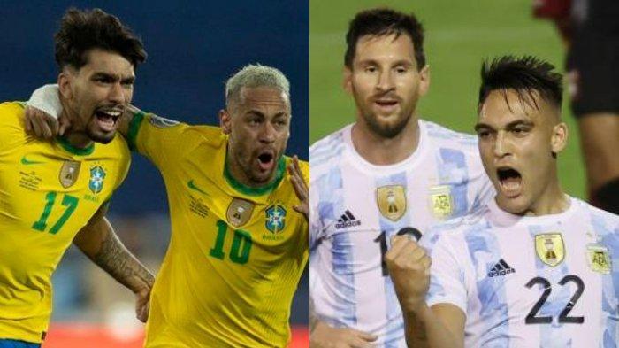 Lengkap Hasil Kualifikasi Piala Dunia 2022: Chile vs Brazil 0-1, Venezuela vs Argentina 1-3