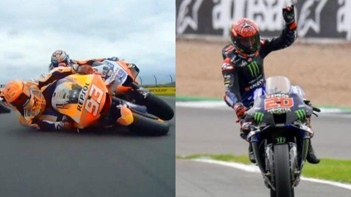 Lengkap Hasil MotoGP Inggris 2021: Marc Marquez dan Jorge Martin Kecelakaan, Fabio Quartararo Juara