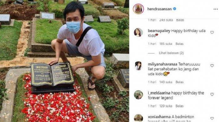 Profil Hendra Setiawan, Ziarah ke Makam Markis Kido, Ucapkan Selamat Ulang Tahun kepada Sang Sahabat