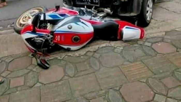 KRONOLOGI Honda CBR1000RR SP Ditabrak Daihatsu Ayla hingga Penabrak Siap Ganti Pakai Rumah dan Mobil
