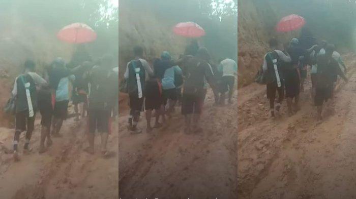 Viral Ibu dan Bayi Dipikul Usai Melahirkan Gegara Jalan Rusak di Konawe Selatan, 'Begitu Tragisnya'