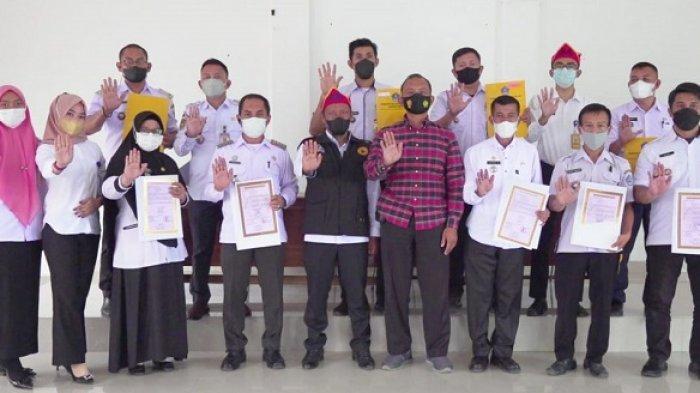 Inspektorat dan Polres Kendari Sosialisasi Siber Pungli di 8 Kecamatan, Keluarkan Aplikasi E-proksi
