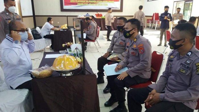 Itwasum Polri Gelar Audit Kinerja di Polres Konawe, Empat Polres Dilibatkan