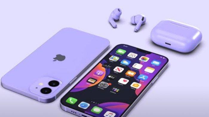 iPhone 12 Warna Ungu