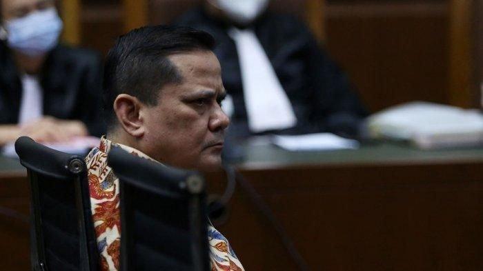 Terdakwa kasus dugaan suap penghapusan red notice Djoko Tjandra, Irjen Pol Napoleon Bonaparte menjalani sidang lanjutan di Pengadilan Tipikor, Jakarta, Senin (9/11/2020).
