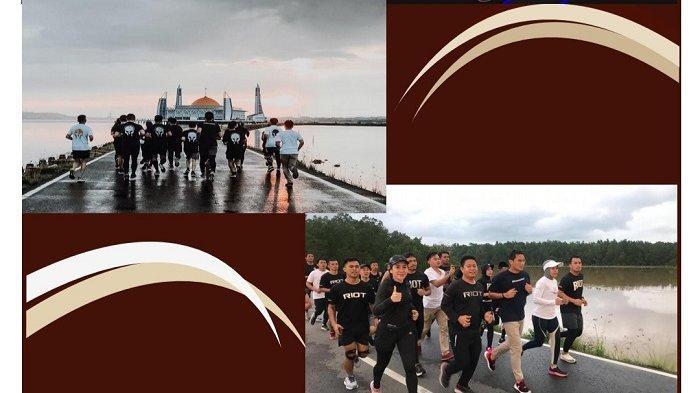 Bantu Pemerintah Lawan Covid-19, RIOT Chapter Kendari Helat Kejuaraan Lari Virtual 28 Maret 2021