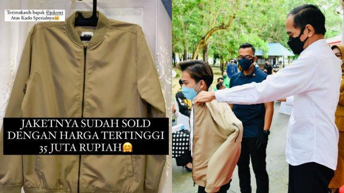 Jaket Presiden Joko Widodo Terjual Rp35 Juta, Lelang Amal Artis TikTok, Sosok Pembeli dari Medan