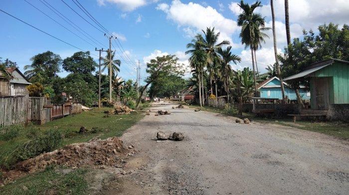 Jalan Rusak di Wakumoro Muna Tak Kunjung Diaspal, Warga Harap Kepedulian Pemprov Sulawesi Tenggara