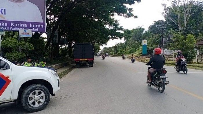 Ini Jalur Alternatif yang Aman, Hindari Bentrok Pemuda di Kawasan Taman Kota Kendari Beach