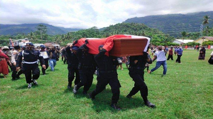 Jenazah Briptu Herlis Tiba di Kolaka Utara, Upacara Pemakaman Dipimpin Bupati Nurahman Umar