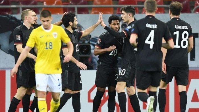 LIVE Jerman vs Rumania Kualifikasi Piala Dunia 2022, Kritik Mario Gomez, Pembuktian Timo Werner