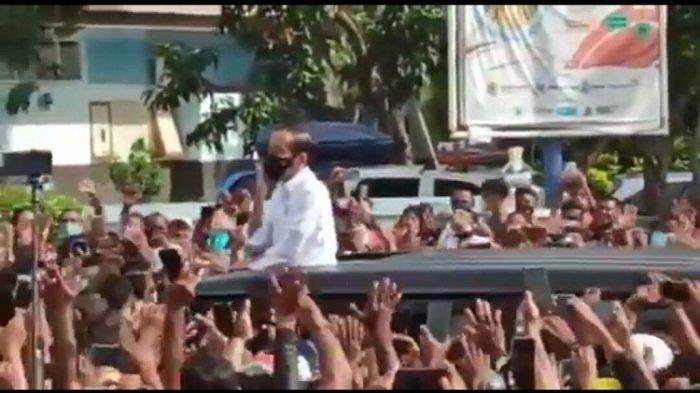 Video Jokowi Dikerumuni Warga NTT, Begini Penjelasan Istana