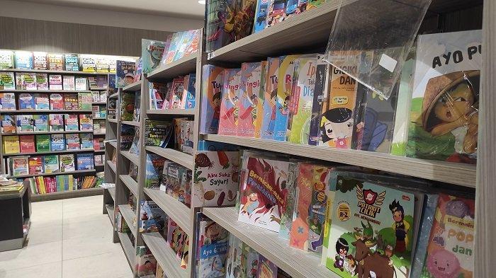 Promo Kalap Novel dan Anak di Gramedia Lippo Plaza Kendari Beri Diskon 25 Persen