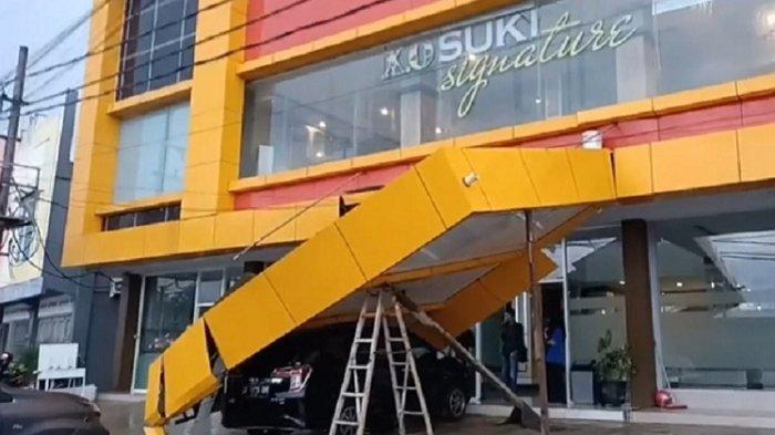 Penyebab Kanopi Wixel Hotel Kendari Roboh, Menimpa Mobil General Manager, Runtuh Saat Hujan Deras
