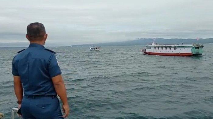 KSOP Kendari Evakuasi KM Mahkota Tujuan Menui Sulawesi Tengah, Dibantu Basarnas