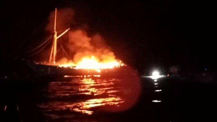 Ternyata Warga Amerika Serikat Kapten Kapal Puti Raja yang Terbakar dan Tenggelam di Selat Buton
