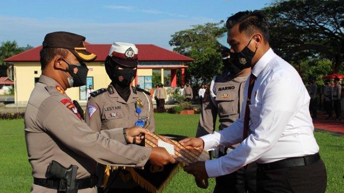 20 Personel Polres Konawe Diganjar Penghargaan, AKBP Wasis Santoso: Mereka Kinerjanya Baik