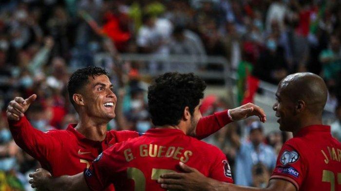 Hasil Lengkap Kualifikasi Piala Dunia 2022, Ronaldo Hattrick, Inggris Tertahan, Denmark Susul Jerman