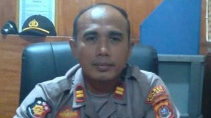Kepala Satuan Reserse Kriminal (Kasat Reskrim) Polres Baubau Iptu Nadjamuddin