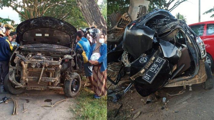 KRONOLOGIS Kecelakaan Maut 9 Mahasiswa UHO Kendari di Bombana Sultra, 5 Tewas, 4 Terluka