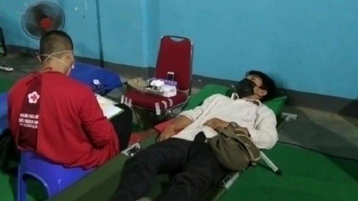 KSR PMI Unit UHO Peroleh 69 Kantong Darah, Tambah Stok di Sultra, Bakal Rutin Gelar Kegiatan Donor