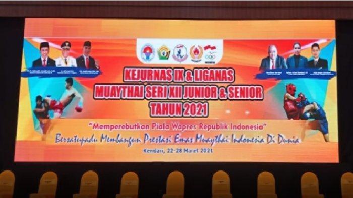 Kejurnas dan Liganas 2021 Berjalan Sukses, Ketum Pengprov Muaythai Sultra: Terima Kasih