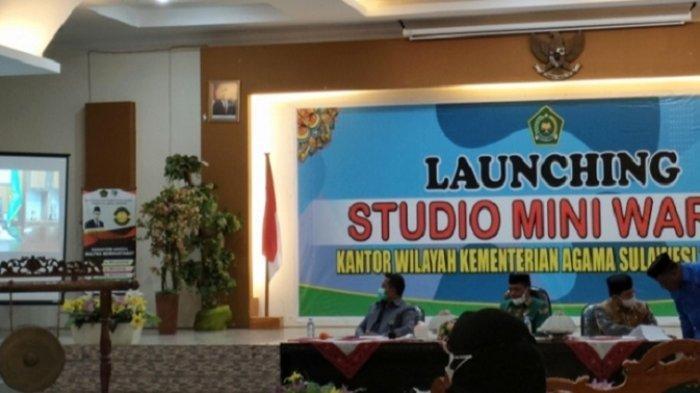 Kemenag Sulawesi Tenggara Launching Studio Mini Warta, Pemberitaan Program Kemenag