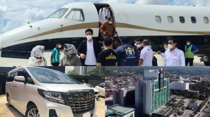 Mewahnya Munas Kadin 2021 di Kendari, Bertabur Menteri, Pengusaha Kaya, Jet Pribadi, Mobil Mewah