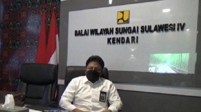 Pembangunan Bendungan Ladongi Koltim Capai 97 Persen, Diresmikan Presiden Joko Widodo Oktober 2021