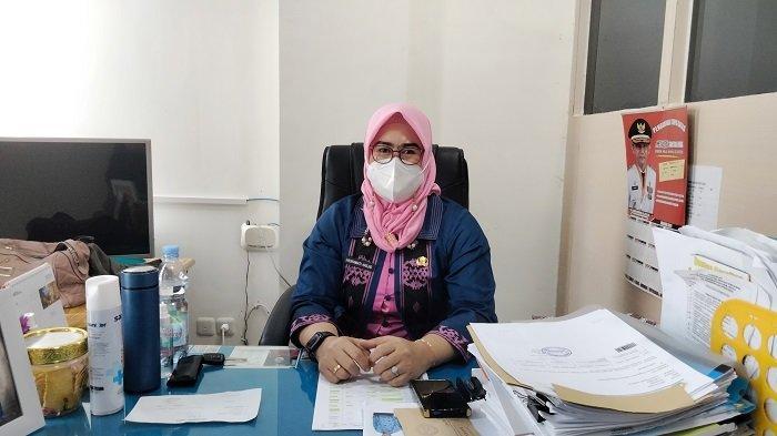 Kepala Sub Bidang Pengadaan Aparatur Sipil Negara (ASN) Badan Kepegawaian Daerah (BKD) Sultra Hadrawati
