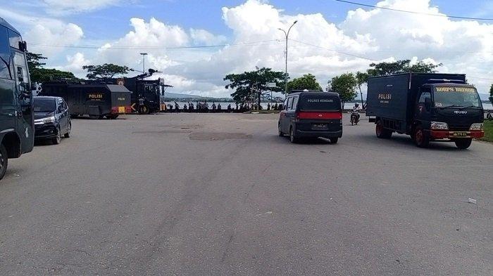 Pascabentrok, Dua Kelompok Pemuda Masih Saling Berjaga, Ratusan Polisi Siaga di Kendari Beach