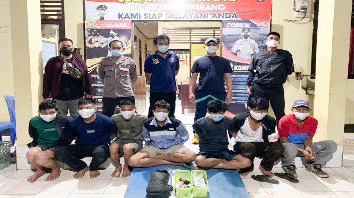 Polisi Tangkap 7 Warga di Konawe Utara Tengah Pesta Narkoba, Sita 1 Gram Sabu, Dibeli Rp1,8 Juta