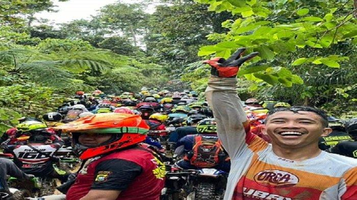 500 Peserta Motor Trail di Kolut Tak Dites Covid-19, Polda Sultra Beri Izin, Kerumunan Terjadi