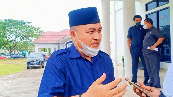 Ketua DPRD Kabupaten Konawe, Dr Ardin saat ditemui TribunnewsSultra.com, Selasa (21/9/2021).