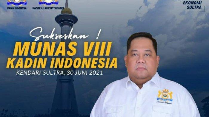 Ketua Umum Kamar Dagang dan Industri (Kadin) provinsi Sulawesi Tenggara (Sultra) Anton Timbang.