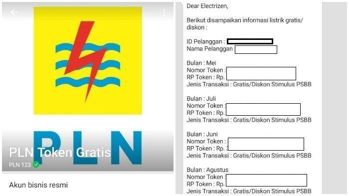 Cara Mendapatkan Token Gratis PLN Januari Via stimulus.pln.co.id, WhatsApp 08122123123, PLN Mobile