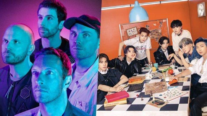 Coldplay Umumkan Kolaborasi dengan BTS di Single Baru Berjudul 'My Universe'