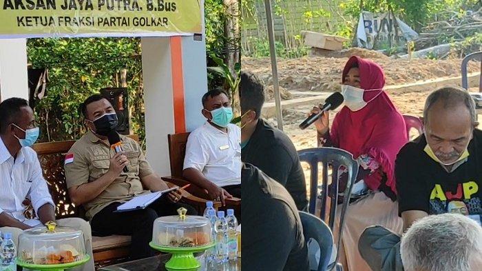 Reses Anggota DPRD Sultra AJP di Baruga, Emak-emak Curhat Sulit Mencari Kerja dan Modal Usaha